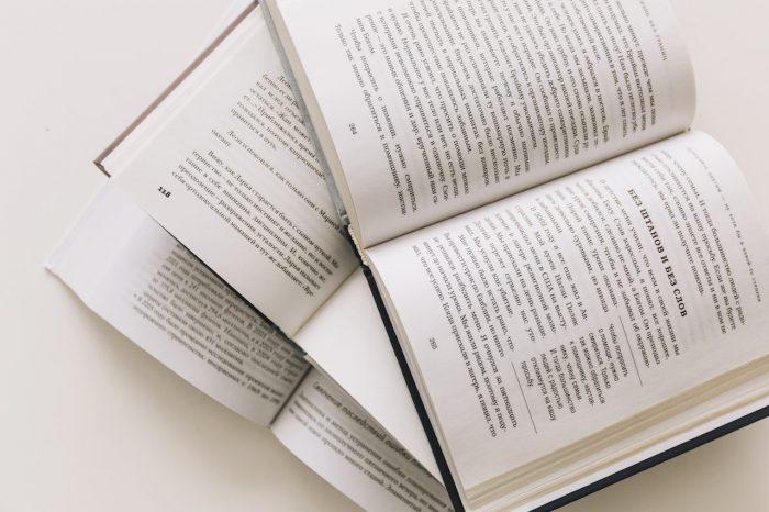 las partes de un libro