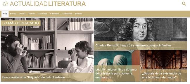 Actualidad literatura: Blog