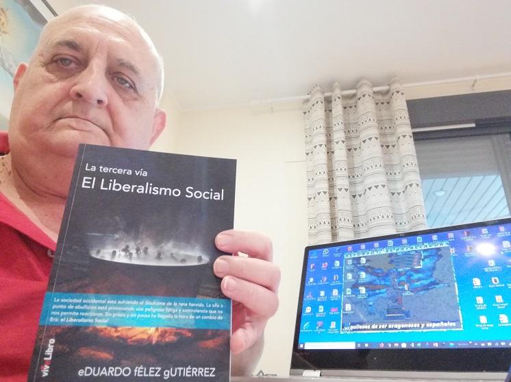 "Eduardo Félez, autor del libro ""El Liberalismo Social"""
